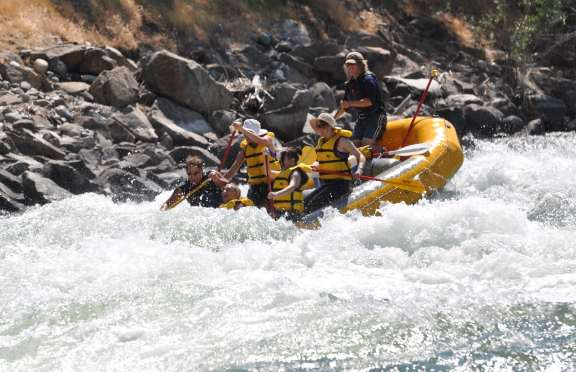 White water rafting, Leavenworth to Cashmere