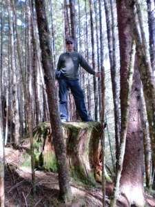 Marce's trail, Windham Bay Alaska