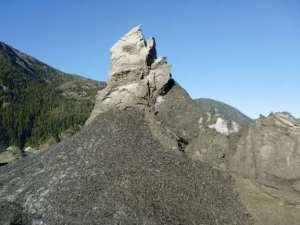 silt formation, Baird Glacier Alaska