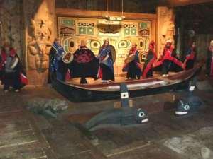 Wrangell Alaska Tlingit tribal house