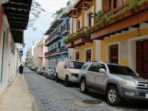colorful houses of old San Juan