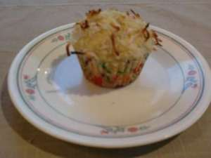 coconut lime muffin