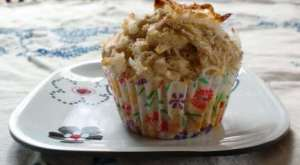 sugarfree coconut lime muffin recipe