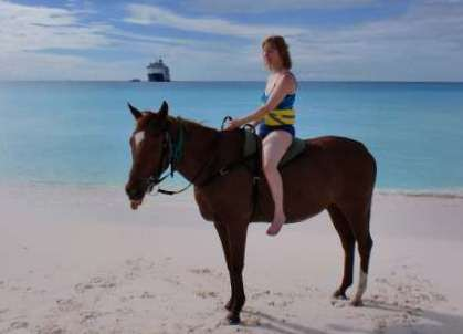 Half Moon Cay Horse Ride Cruise Stories