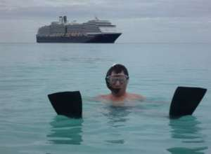 john snorkeling