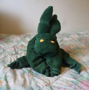 towel donkey