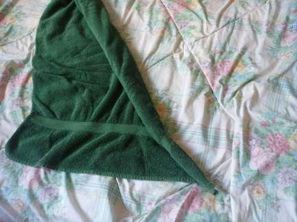 easy towel folding