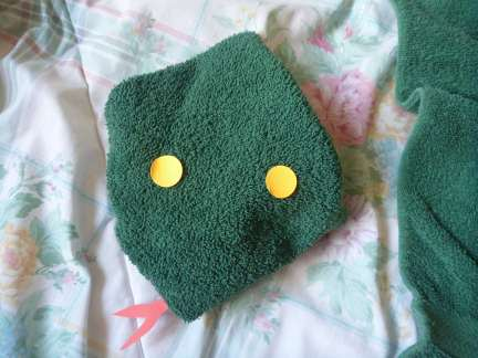 towel snake