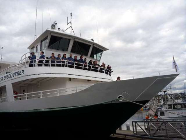 Wilderness Discoverer at Fishermen's Terminal, Seattle 2011