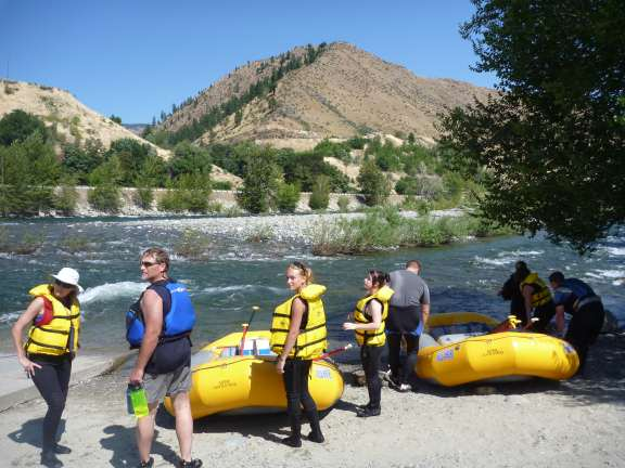 river rafting with Alpine Adventures