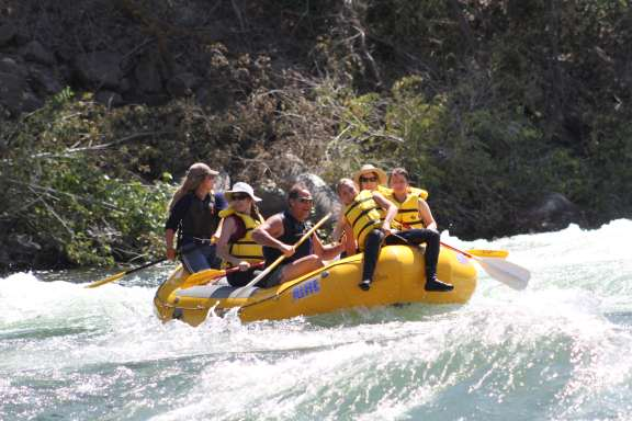 rafting with Alpine Adventures