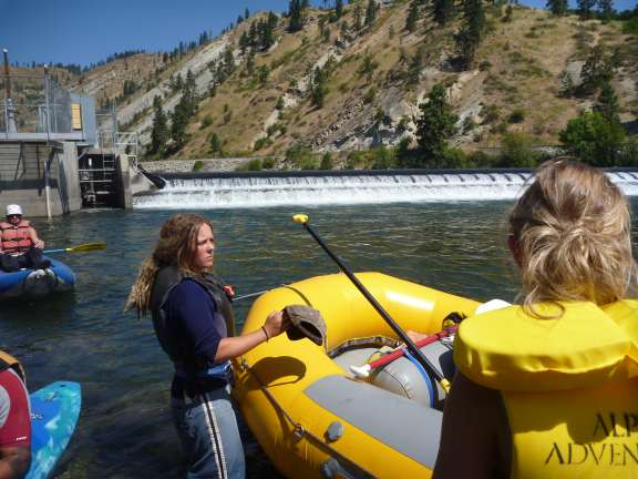 dam portage, Wenatchee River Float