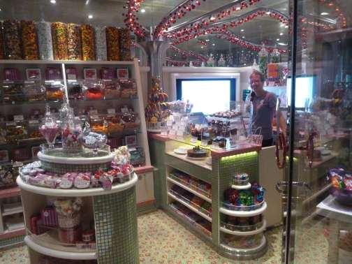 sweets, flowers & party arrangements