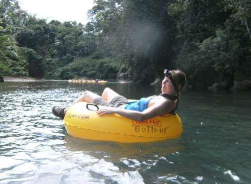 free floating after cave tubing