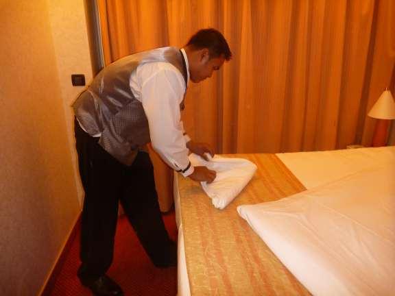 folding a towel seal