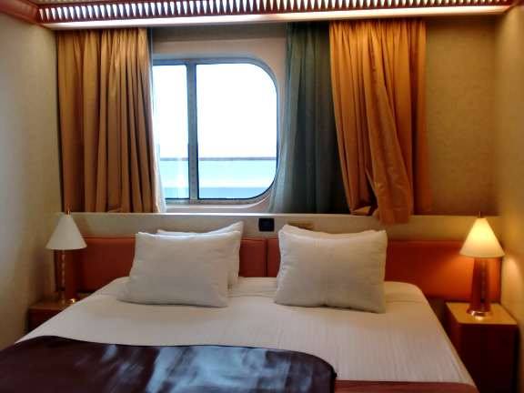 standard window room, Carnival Liberty