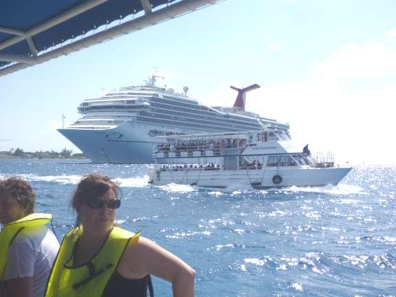 snorkeling at Grand Cayman