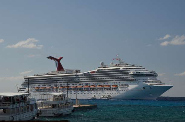 Carnival Liberty in Grand Cayman 2011