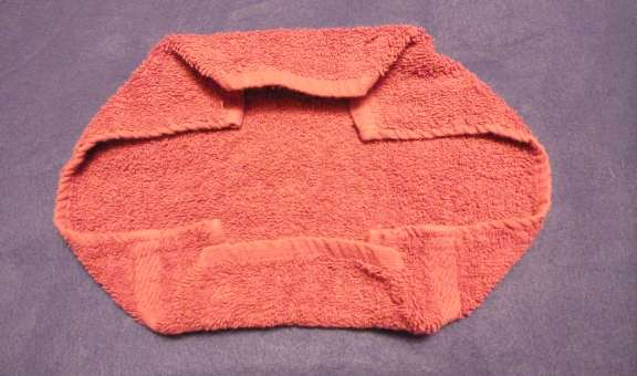 directions for folding washcloth animals