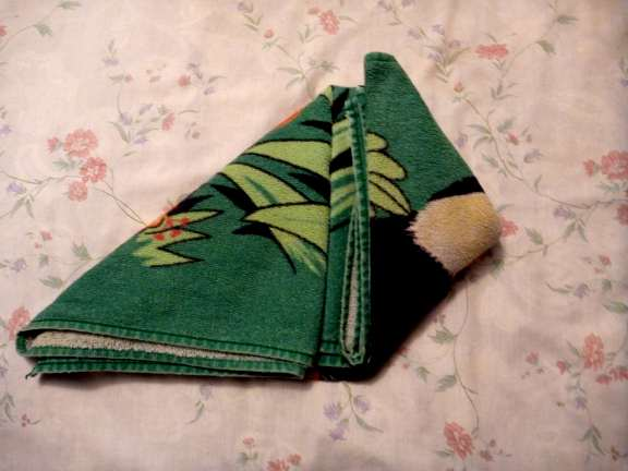 towel frog folding