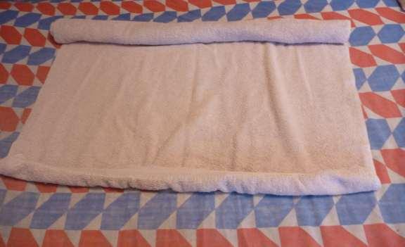 standard towel animal body