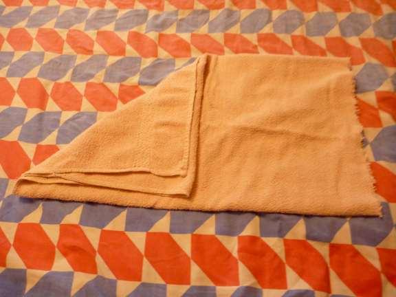 towel origami, towel art
