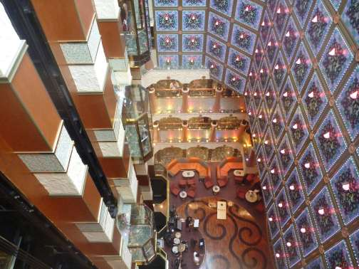 Spaces And Places Around The Ship On Carnival Liberty