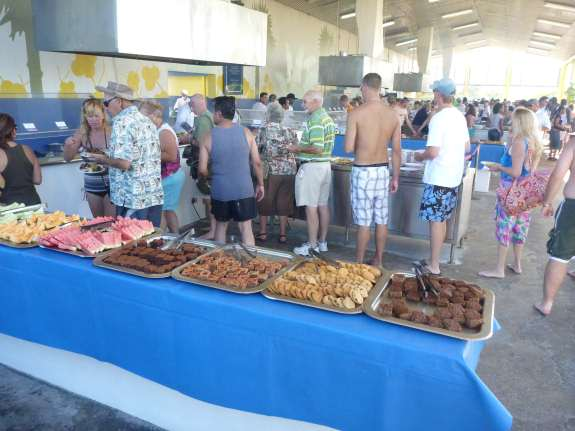 Carnival Cruise port stop, Half Moon Cay, Bahamas