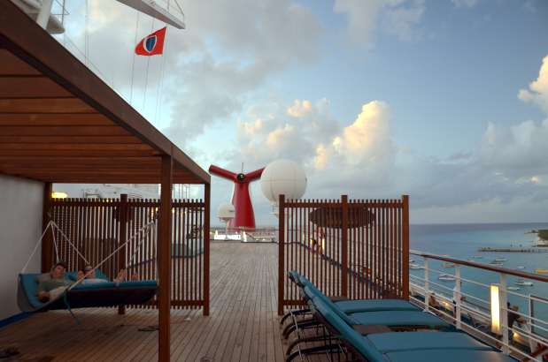 Carnival Liberty Serenity Deck