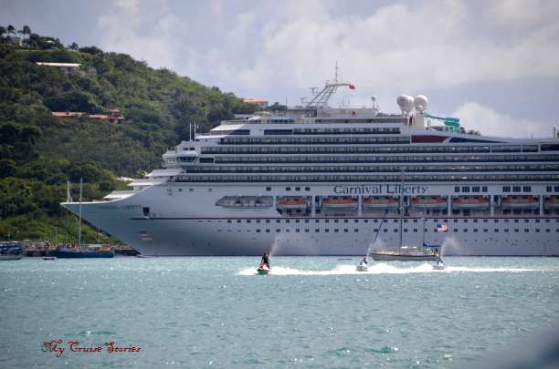 St Thomas cruise ship port