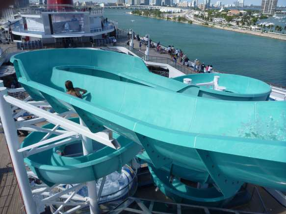 Slide on Carnival Liberty