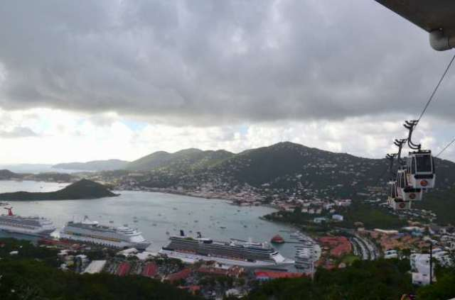 Paradise Point Tramway, Saint Thomas