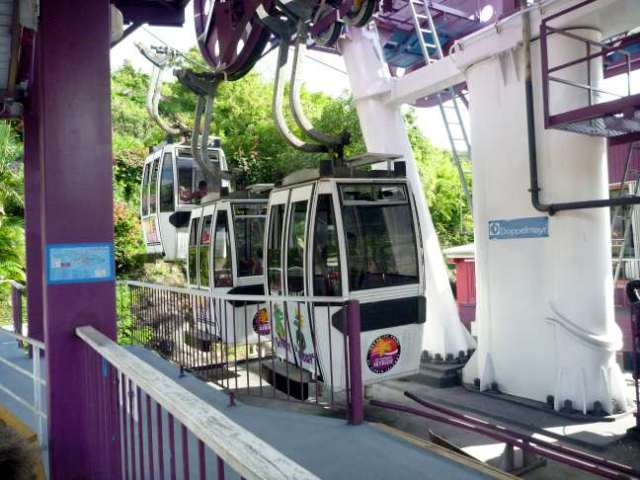 paradise point tramway, Charlotte Amalie