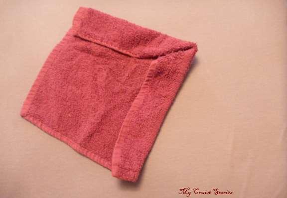 how to fold washcloth animals