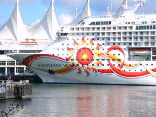 cruise ship port, Vancouver BC Canada