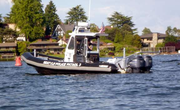 City of Seattle Boat Police