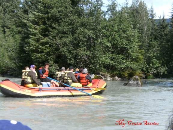 river rafting in Juneau Alaska