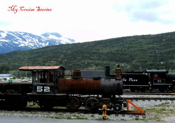 Steam engine, White Pass and Yukon railway