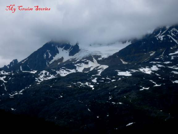 mountains near Skagway, Alaska