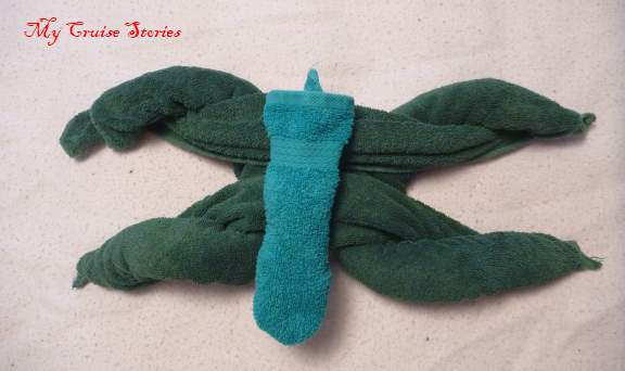 making a towel turtle