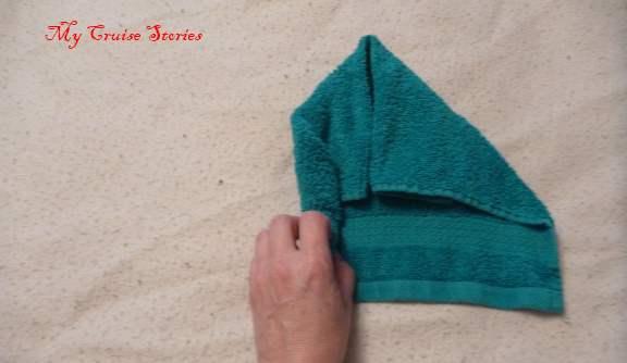 washcloth animal head