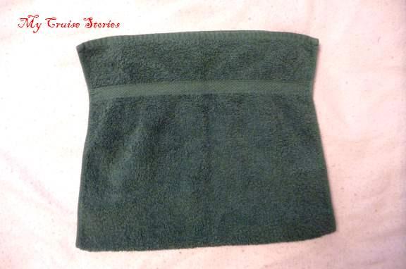 how to fold a towel turtle shell