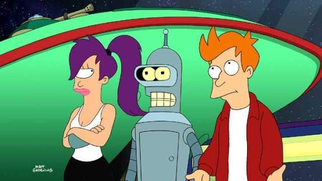 futurama cartoon