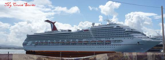 cruise ship in San Juan