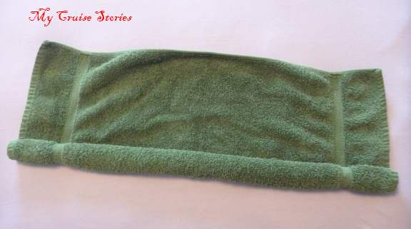 how to make an easy towel stingray