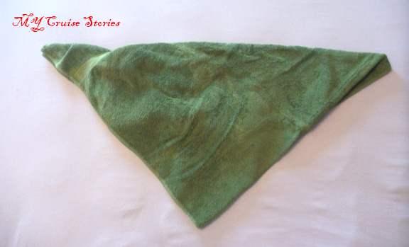 folding an easy towel stingray