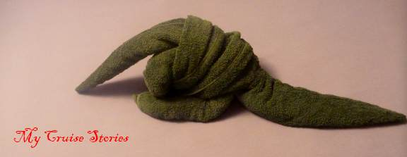 how to make a towel dinosaur