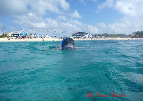 snorkeling on Grand Turk