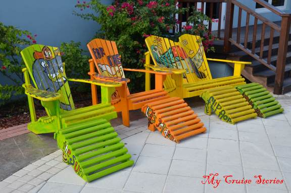 chairs at Margaritaville