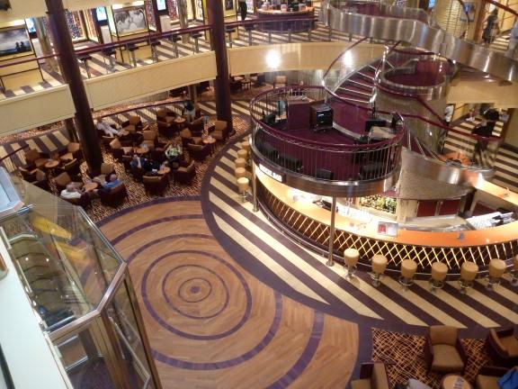 Carnival Breeze Ship Decor Cruise Stories